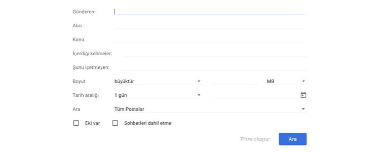 Gmail'de Çöp Kutusundan Silinen Mailleri Geri Getirme