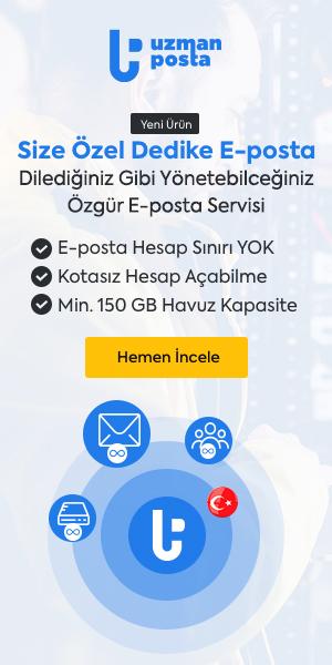 Uzman Posta Kurumsal E-Posta